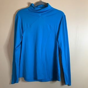 Running Room Blue Long-Sleeved Top Large